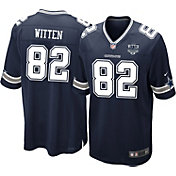 Nike Men's Home Game Jersey Patch Dallas Cowboys Jason Witten #82