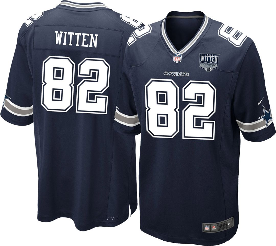 buy online bfd36 25c8e Nike Men's Game Jersey Patch Dallas Cowboys Jason Witten #82