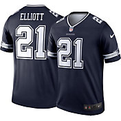 Nike Men's Legend Jersey Dallas Cowboys Ezekiel Elliott #21
