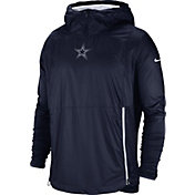 Nike Men's Dallas Cowboys Sideline Fly Rush Navy Jacket