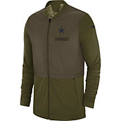 Nike Men's Salute to Service Dallas Cowboys Hybrid Full-Zip Jacket