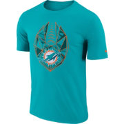 Nike Men's Miami Dolphins Icon Performance Aqua T-Shirt