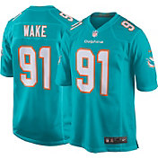 Nike Men's Home Game Jersey Miami Dolphins Cameron Wake #91