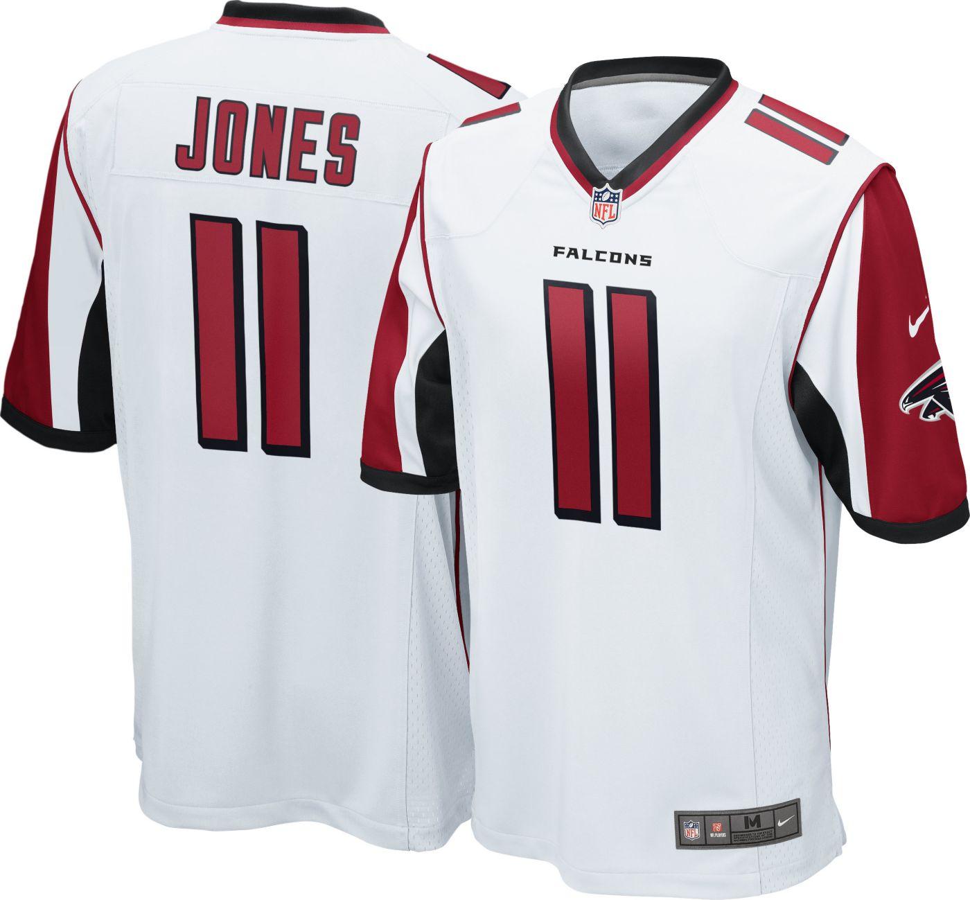 Nike Men's Away Game Jersey Atlanta Falcons Julio Jones #11