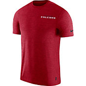 Nike Men's Atlanta Falcons Sideline Coach Performance Red T-Shirt