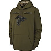 Nike Men's Salute to Service Atlanta Falcons Therma-FIT Performance Hoodie
