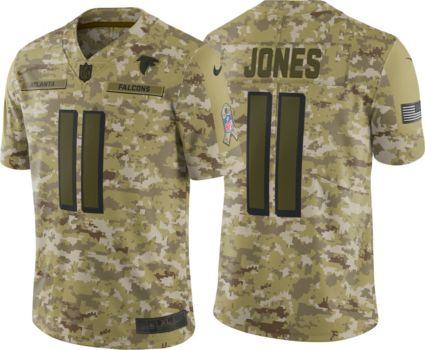 Nike Men s Salute to Service Atlanta Falcons Julio Jones  11 Camouflage  Limited Jersey 8b813cf02