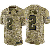 Nike Men's Salute to Service Atlanta Falcons Matt Ryan #2 Camouflage Limited Jersey