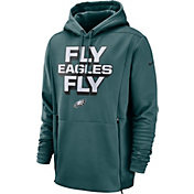 Nike Men's Philadelphia Eagles Sideline Therma-FIT Local Green Performance Hoodie