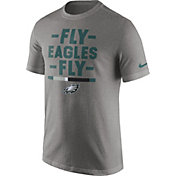Nike Men's Philadelphia Eagles Local Verbiage Grey T-Shirt