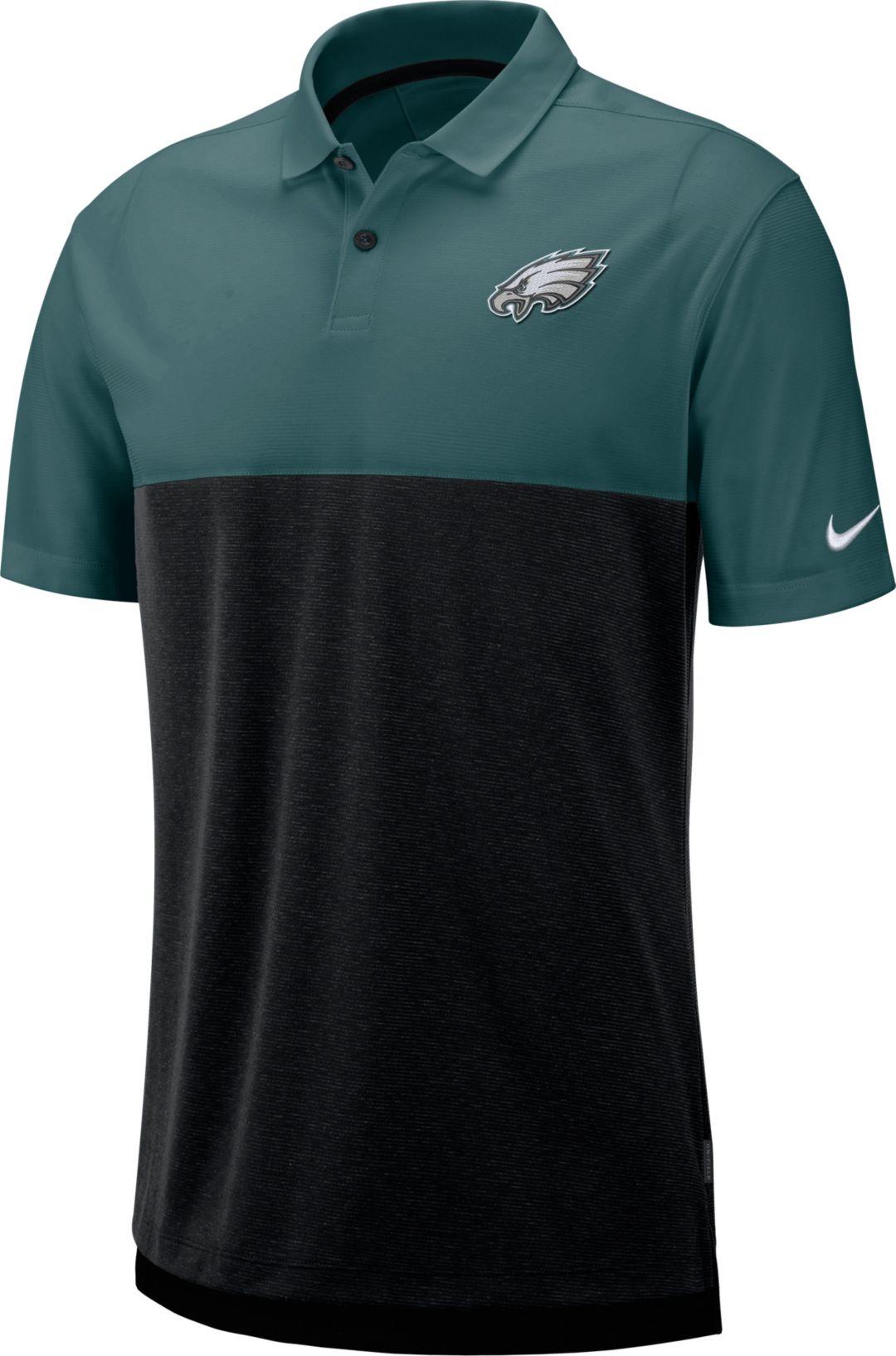 c4c6b92f Nike Men's Philadelphia Eagles Sideline Early Season Green Polo