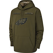Nike Men's Salute to Service Philadelphia Eagles Therma-FIT Performance Hoodie