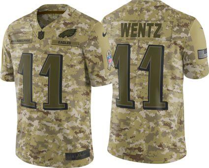 Nike Men s Salute to Service Philadelphia Eagles Carson Wentz  11 Limited  Jersey. noImageFound 11c1f1111