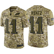 Nike Men's Salute to Service Philadelphia Eagles Carson Wentz #11 Limited Jersey