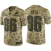 Nike Men's Salute to Service Philadelphia Eagles Zach Ertz #86 Limited Camouflage Jersey