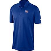 Nike Men's New York Giants Franchise Blue Polo
