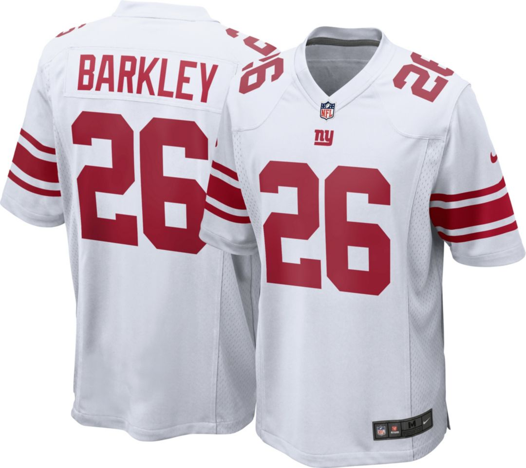 brand new ff635 01957 Saquon Barkley #26 Nike Men's New York Giants Away Game Jersey