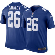 Nike Men's Color Rush Legend Blue Jersey New York Giants Saquon Barkley #26