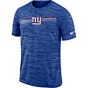 Nike Men's New York Giants Sideline Legend Velocity Blue T-Shirt