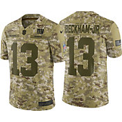Nike Men's Salute to Service New York Giants Odell Beckham Jr. 13 Limited Camouflage Jersey