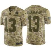 Nike Men's Salute to Service New York Giants Odell Beckham Jr. 13 Camouflage Limited Jersey