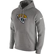 Nike Men's Jacksonville Jaguars Logo Club Grey Hoodie