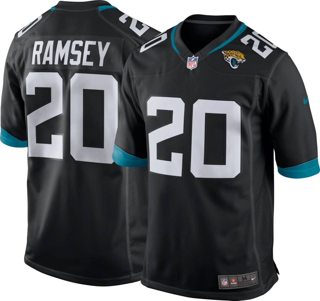 the latest 09d4d 28aa2 Nike Men's Home Game Jersey Jacksonville Jaguars Jalen Ramsey #20