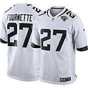 Nike Men's Away Game Jersey Jacksonville Jaguars Leonard Fournette #27