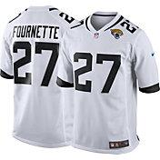 Nike Men's Away Game Jersey Jacksonville Jaguars Leonard Fournette #27