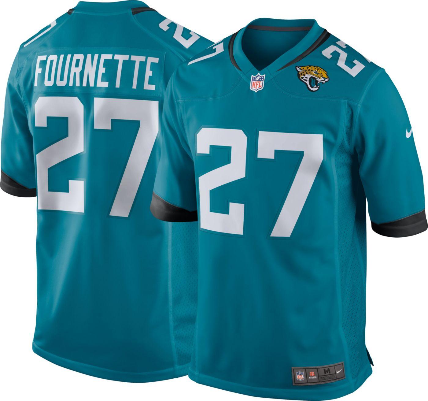 Nike Men's Alternate Game Jersey Jacksonville Jaguars Leonard Fournette #27