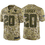 Nike Men's Salute to Service Jacksonville Jaguars Jalen Ramsey #20 Camouflage Limited Jersey