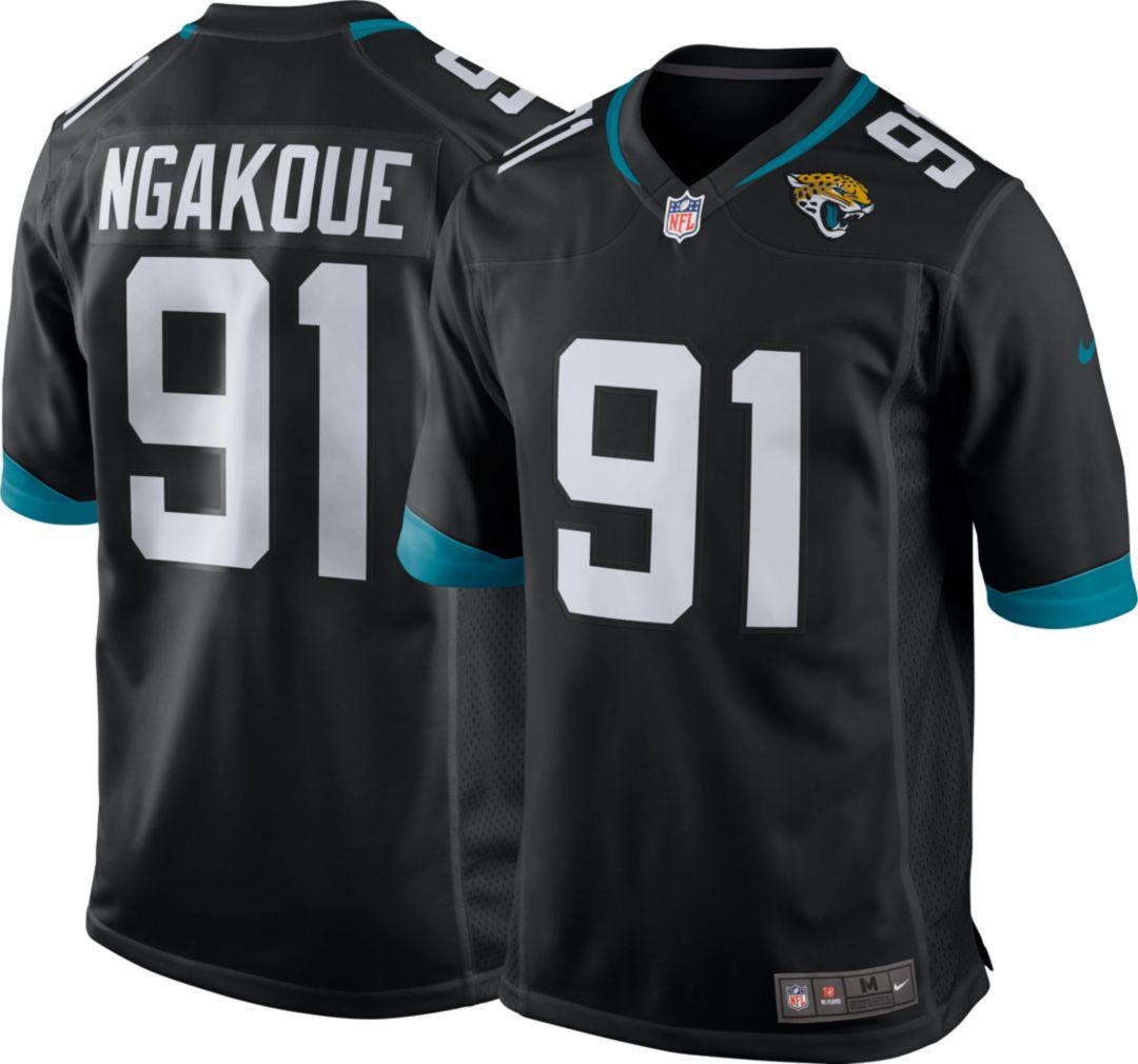 1a23f3f1e20 Nike Men's Home Game Jersey Jacksonville Jaguars Yannick Ngakoue #91 ...