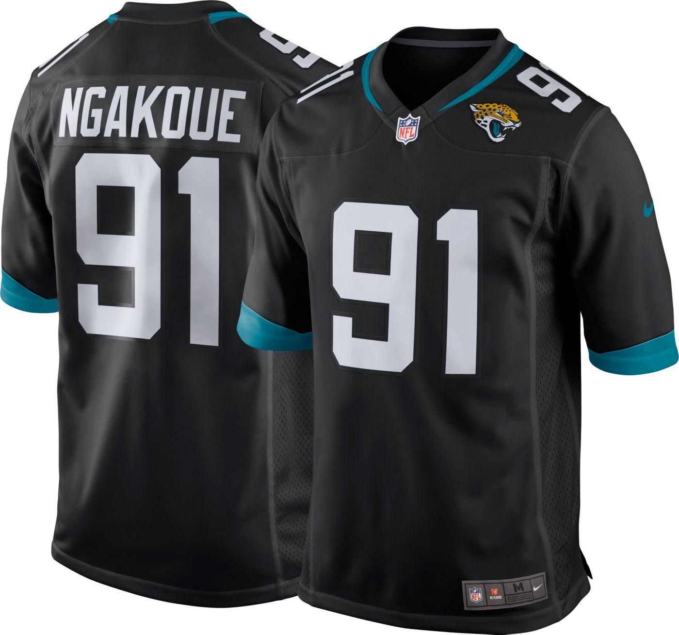 Nike Men's Home Game Jersey Jacksonville Jaguars Yannick Ngakoue #91