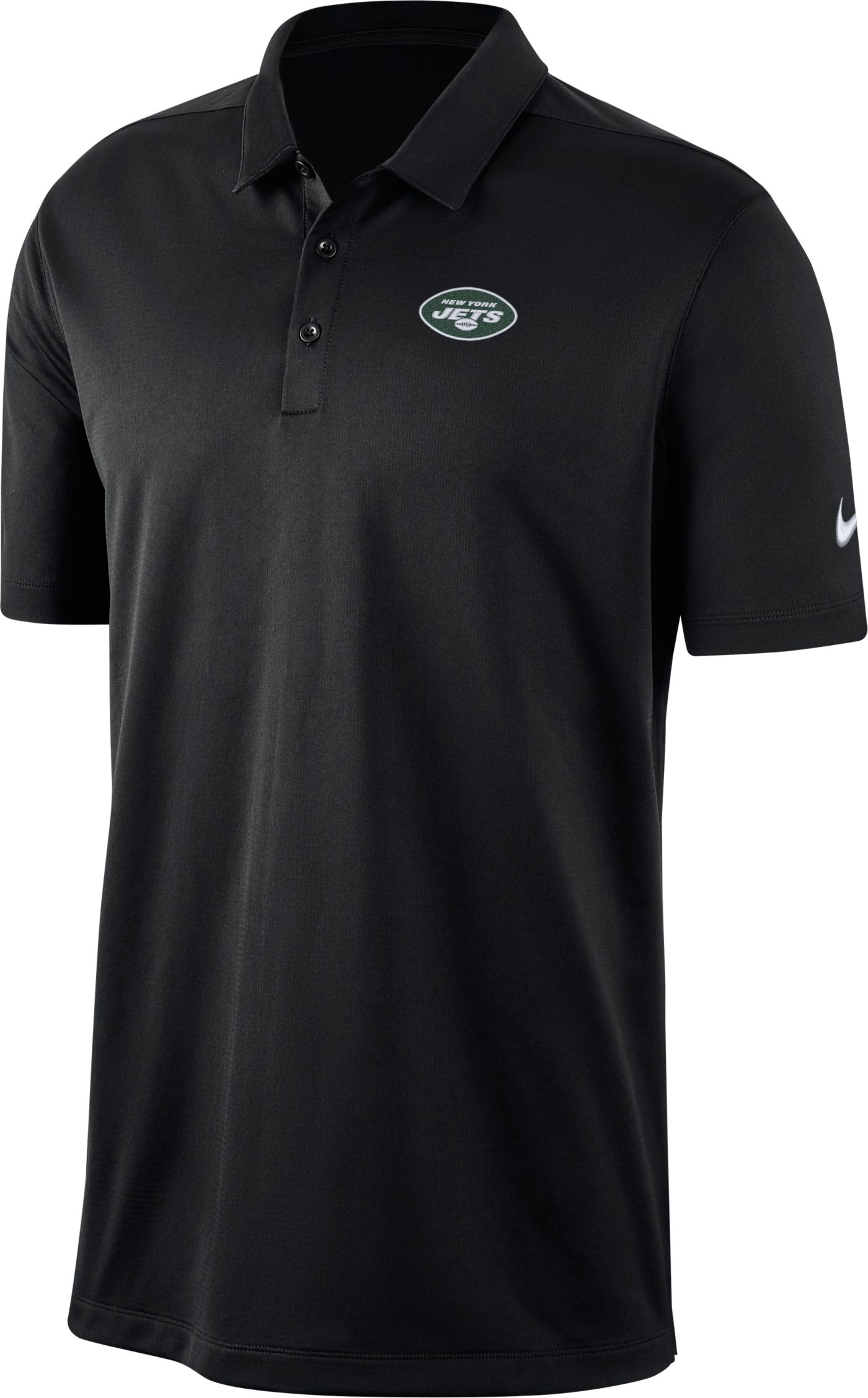Nike Men's New York Jets Franchise Black Polo