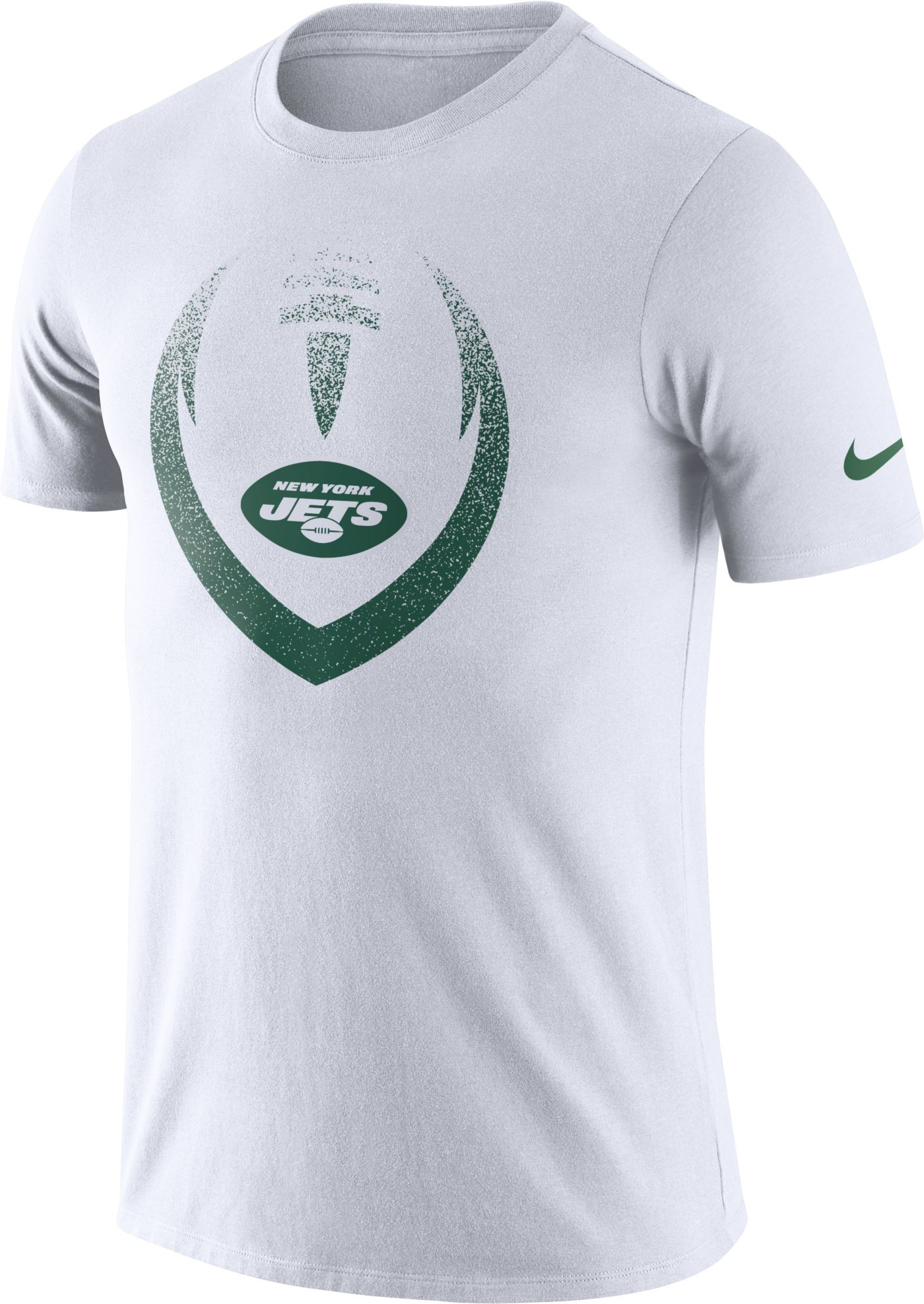 Nike Men's New York Jets Icon White Performance T-Shirt