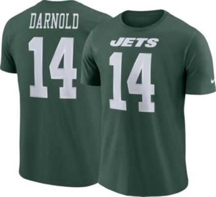 Sam Darnold  14 Nike Men s New York Jets Pride Green T-Shirt ... 8742ab532