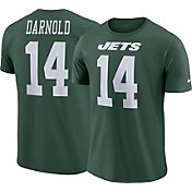 Sam Darnold #14 Nike Men's New York Jets Pride Green T-Shirt