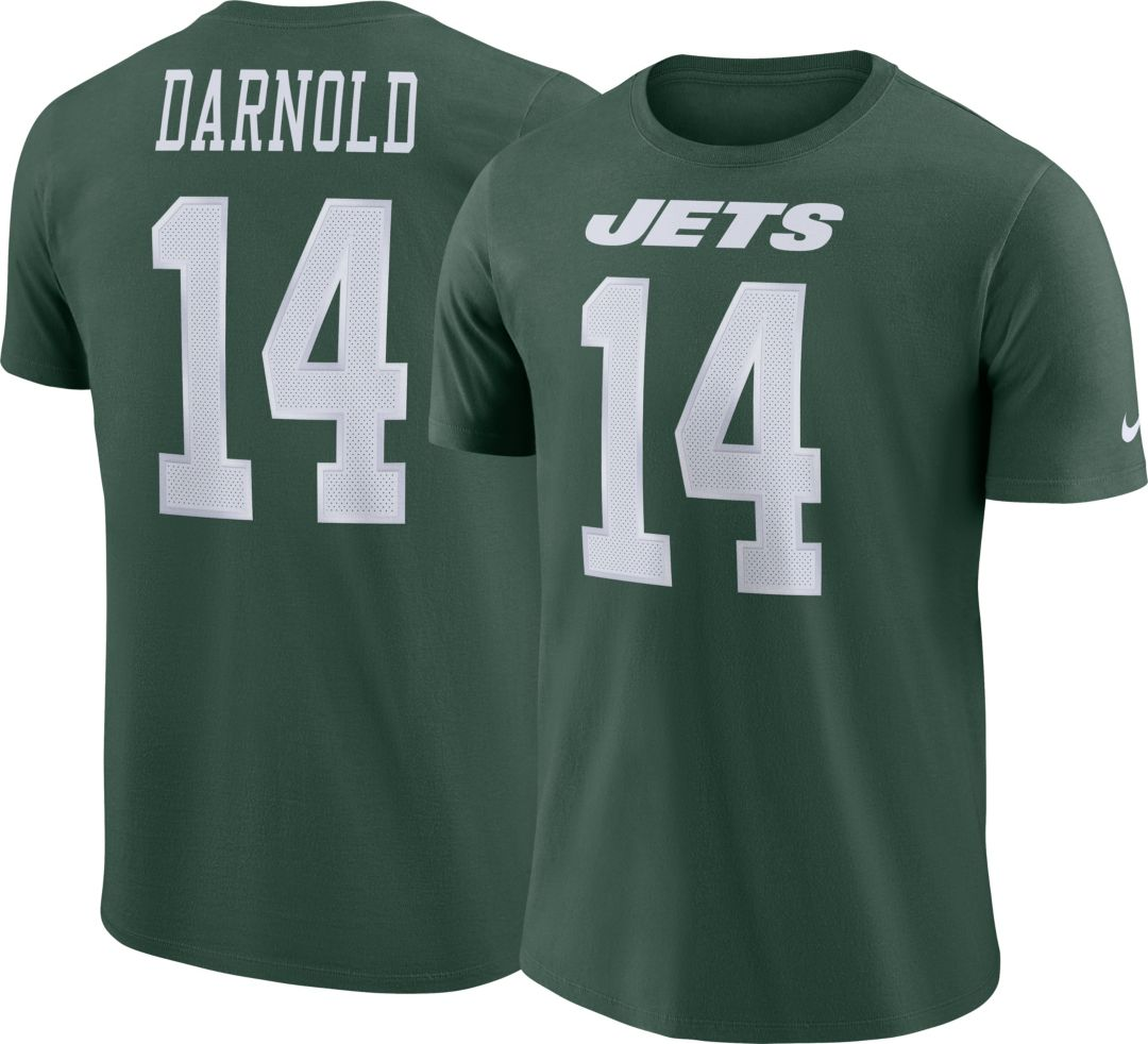 buy popular c086b 11f9a Sam Darnold #14 Nike Men's New York Jets Pride Green T-Shirt