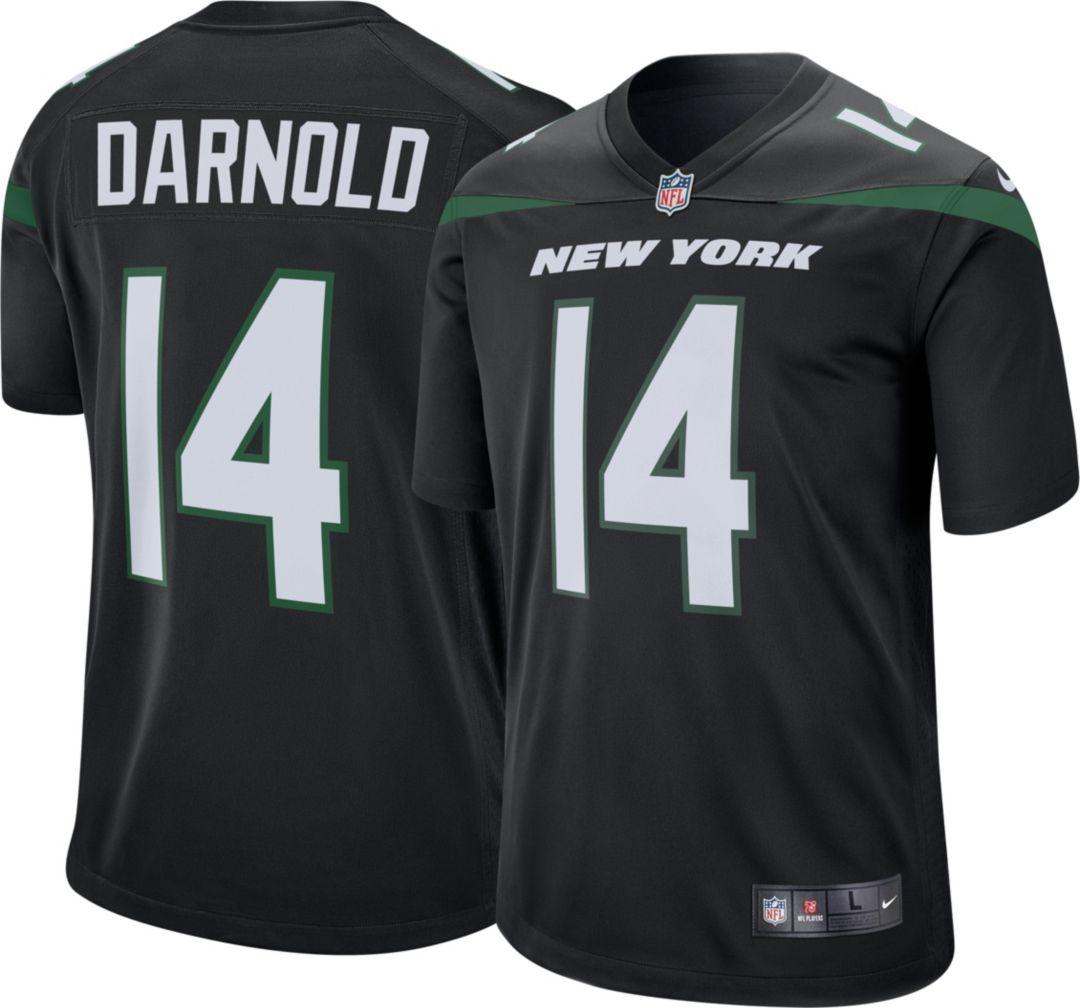 the best attitude b2d2e c5d12 Nike Men's Alternate Game Jersey New York Jets Sam Darnold #14