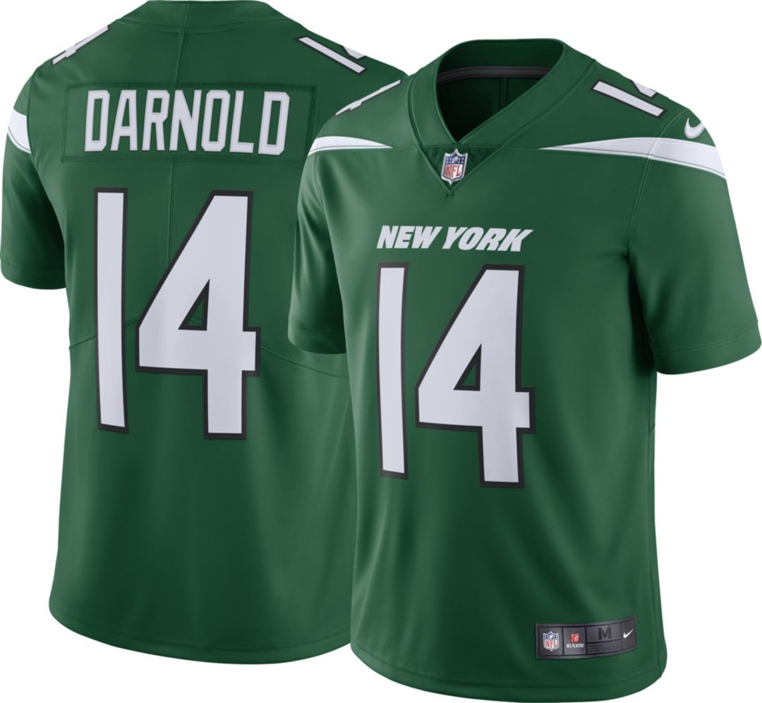 new style 5cb89 574bd Nike Men's Home Limited Jersey New York Jets Sam Darnold #14