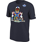 Nike Men's NFL 2018 Draft Local Mosaic Navy T-Shirt
