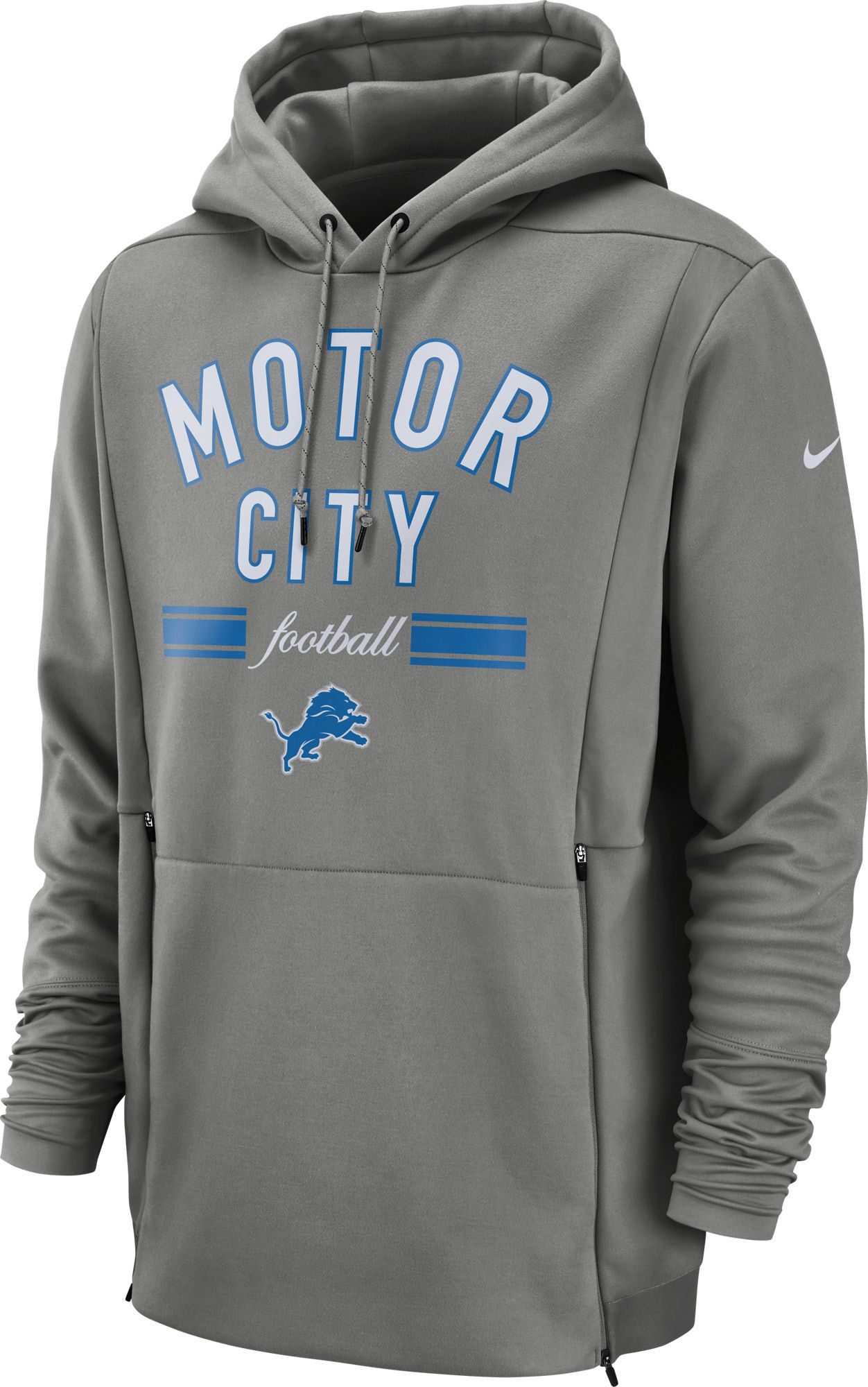 5ce24c755 Nike Men39s Detroit Lions Sideline Player Local Therma Hoodie