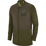 Nike Men's Salute to Service Detroit Lions Hybrid Full-Zip Jacket