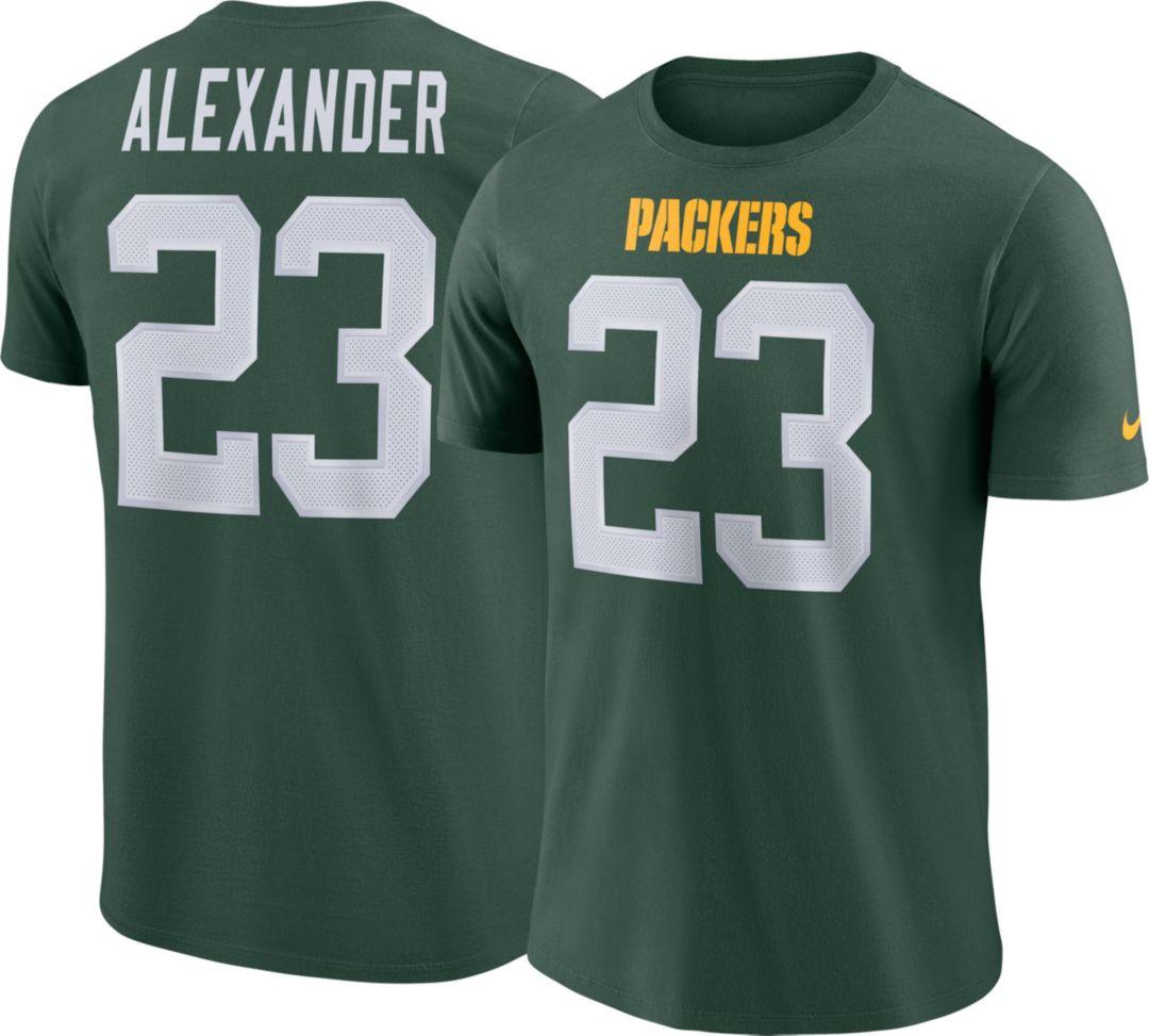 b7b13773 Jaire Alexander #23 Nike Men's Green Bay Packers Pride Green T-Shirt