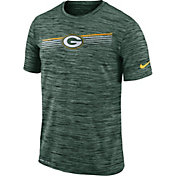 Nike Men's Green Bay Packers Sideline Legend Velocity Green T-Shirt