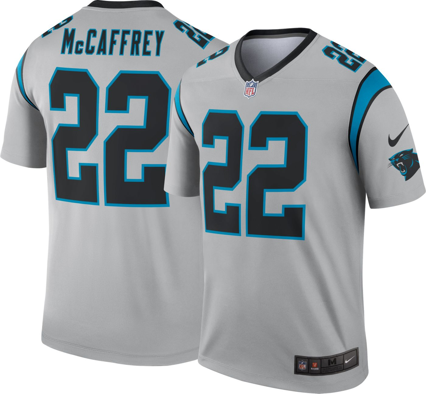 Nike Men's Alternate Legend Jersey Carolina Panthers Christian McCaffrey #22