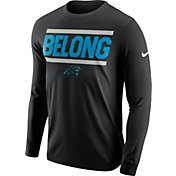 Compare. Product Image · Nike Men s Carolina Panthers Lockup Local Long  Sleeve Black Shirt 648978ae6