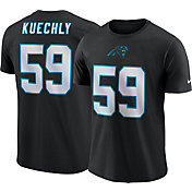Luke Kuechly #59 Nike Men's Carolina Panthers Pride Black T-Shirt