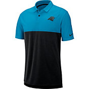 Nike Men's Carolina Panthers Sideline Early Season Blue Polo