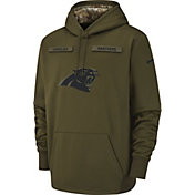 Nike Men's Salute to Service Carolina Panthers Therma-FIT Performance Hoodie